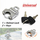 1*Motorcycle Bike Helmet Locks Hanger Fit 22mm 1