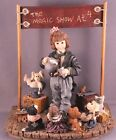 Boyds Bears Dollstone AMAZING BAILEY MAGIC SHOW AT 4 Magician-Limited Edition