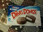LOT OF 4 Hostess Ding Dongs Chocolate Cake with Creamy Filling,10 Cakes each box
