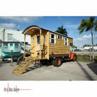 1950 GMC Original Truck with Custom Motor home Style Cabin Camper with Bed Sink