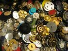 VINTAGE BUTTONS ALL KINDS TINFUL 5 POUNDS
