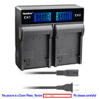 Kastar Decode Battery AC Rapid Charger for Panasonic VW VBN260 HC X800 HC X800GK