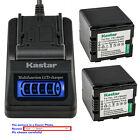 Kastar Battery LCD Quick Charger for Panasonic VW VBN260 HC X800 HC X800GK