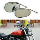Chrome Motorcycle Mirrors For Harley Davidson Sportster 883 2003 2004 2005 2006