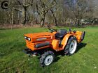 Large Kubota Compact Tractor B1600D 4WD  New FarmMaster 115m Flail Mower