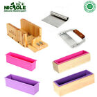 Making Soap Kits Tools Loaf Cold Process Silicone Mold Cutter Blades Set 5 DIY
