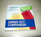 Weight Watchers 2008 Dining Out Companion Book