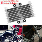Motorcycle Oil Cooler Engine Radiator for 125-250CC Dirt Bike ATV Capacity 125ml