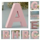 Wooden Pink 26 Alphabet Letters Marquee Letters Kids Girl Room Wall Sign A Z