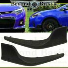 For 2014 2015 2016 TOYOTA COROLLA S Model Only Front Body Kit Lip 2 pcs