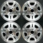 Set 2000 2011 Ford Mazda B 2300 Ranger OEM Factory 15 Silver Wheels Rims 3431
