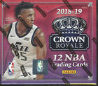 2018-19 PANINI CROWN ROYALE BASKETBALL FACTORY SEALED HOBBY BOX