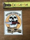 Ontario Knife Co Knives Skeleton Sticker Decal Approx 3 Rare