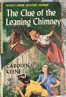CLUE Of The LEANING CHIMNEY Nancy Drew Mystery Story 26 Carolyn Keene 1st ed