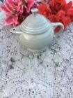 FIESTA NEW PEARL grey Retired TWO CUP TEAPOT 16 oz. Fiestaware