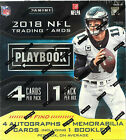 2018 Panini Playbook Football Hobby Box - Factory Sealed!
