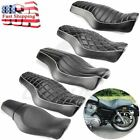 Mototcycle Driver  Passenger Two Up Seat For Harley Sportster 1200 Iron 883