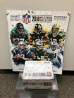 2018 Panini NFL Football Sticker 50ct.Box With Album. Factory Sealed Sticker Box