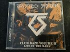 TWISTED SISTER Club Daze Vol II Live In The Bars CD  New and Sealed