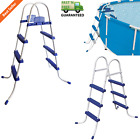 Pool Ladder for Wall Height Above Ground Pools 36 or 52 Non Slip Grip Steps