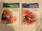 WEIGHT WATCHERS 2004 COMPLETE FOOD Winning Points DINING OUT Lot of 2