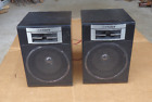 vintage fisher PH-W70 bookshelf speakers boombox radio replacement high fidelity
