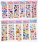 ChildrenS Animation Stickers Lot Scrapbooking Animals 12 Sheets Kids Favor Gift