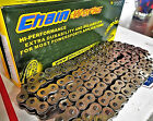 Motorcycle ATV MX Chain 130 Links Self Cleaning Chrome Quad Press Plates A+++