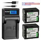 Kastar Battery Slim USB Charger for Panasonic VW VBN130 HC X800 HC X800GK Camera