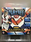 2018 panini playoff football hobby box- BRAND NEW-2 AUTO & 2 MEM. CARDS.