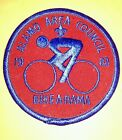 Vintage Scout Patch Alamo Area Council Bike A Rama 1983