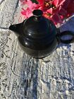 FIESTA NEW Retired BLACK LARGE COVERED TEAPOT 44 oz. Fiestaware