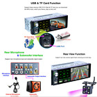 41 Two USB Port Car MP5 Player FM Radio RDS Support Subwoofer Micophone Camera