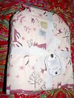 POTTERY BARN TEEN WINTER FOXES FLANNEL PAJAMA SET NEW LARGE