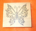 Butterflies insects Outlines Rubber stamp Co Kathy Johns Butterfly mounted art