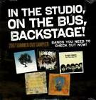 In the Studio, on the Bus, Backstage!