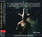 LION'S SHARE - Emotional Coma +1 / Japan OBI New CD 2007 / Power / Astral Doors