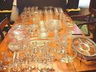 Large Elegant Estate Lot of 160+ Pcs of Imperial Candlewick Glass
