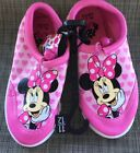 Toddler Girls Minnie Mouse Water Beach Swim Shoes Size 11 12