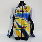Santini vintage cycling jacket UCI size XXL blue yellow new with tags