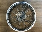 "BMW Spoked Front wheel PERFECT R65/R80/R100/K75/K100 19"" New Spokes and rebuilt!"