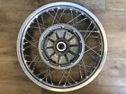 "BMW Spoked Rear wheel PERFECT R65/R80/R100/K75/K100 18"" New Spokes and rebuilt!"