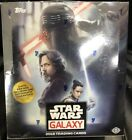 Topps Star Wars Galaxy 2018 Factory Sealed Hobby Card Box. New Sealed!