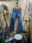 Womens True Religion 27 Jeans Vintage Worn Style Distressed Used USA Made