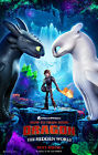 HOW TO TRAIN YOUR DRAGON 3 MOVIE POSTER ORIGINAL 2-SIDED ONE SHEET