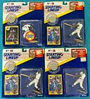 4 Ken Griffey Jr. 1991 STARTING LINEUPS LOT with COINS  Extended  NEW IN PACKAGE