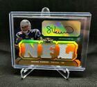 Shane Vereen 2011 Triple Threads Autograph Game Used Jersey Rookie #08 25