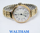 Vintage 14k Yellow Gold WALTHAM Ladies Winding Watch 1920s SERVICED