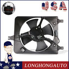 Front LH A C Condenser Cooling Fan ASSY For 98 02 Honda Accord 23L 38611PAAA01