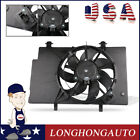 Front Radiator Cooling Fan ASSY For Ford 11 13 Fiesta 14 17 L4 Air Conditioning